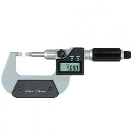 Micromètre digital, touches couteau. 0 à 25 mm - 526400 - D-Work