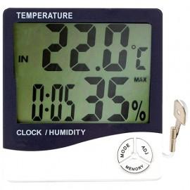 Hygromètre thermomètre LCD -50°C à plus70°C - 705580 - D-Work