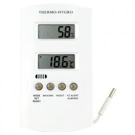 Hygromètre thermomètre LCD -15°C à plus50°C - 705587 - D-Work