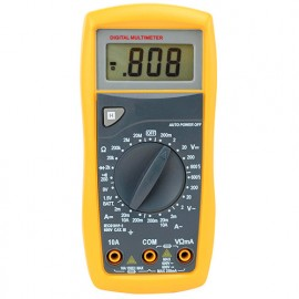 Multimètre 6 fonctions, 24 positions CAT III 600V - 785400 - D-Work
