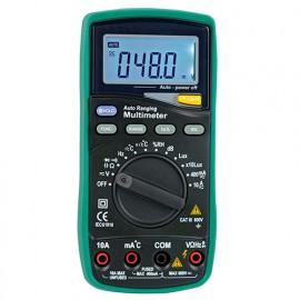 Multimètre multifonctions, Digital LCD retroéclairé. 5 Fonctions - 785700 - D-Work