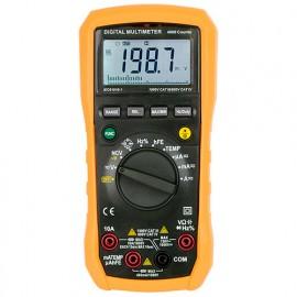 Multimètre 1000V CATIII. Fonction VAT. LCD rétro-éclairé - 786800 - D-Work