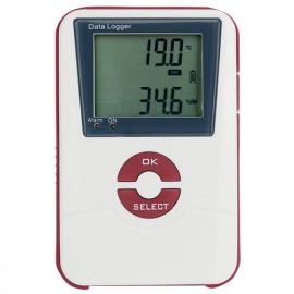 Enregistreur Température plus Humidité. Export sur PC via USB - EAT601 - D-Work