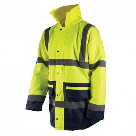 Veste haute visibilité XL 108-116cm bicolore, classe 3 - 675324 - Silverline