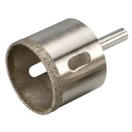 Trépan diamanté D. 6 mm pour grès cérame Lu 35 mm - 675325 - Silverline
