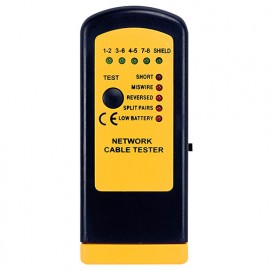 Testeur de câble réseau RJ-45 de 0,4 à 200 mètres - TCR6811 - D-Work