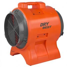Ventilateur de chantier gainable 2 vitesses 230V 750W - Dry Best Fan 750 - 372182 - Eurom
