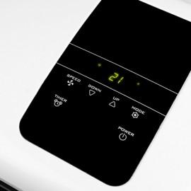 Climatiseur/Chauffage/déshumidificateur d'air mobile 3,5kW 420m3/h - 230V 1390W - Coolperfect 120 Wifi - 380750 - Eurom