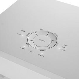 Climatiseur/déshumidificateur d'air mobile 2,05kW 300m3/h - 230V 785W - Polar 7001 - 380873 - Eurom