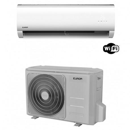 Climatiseur d'air réversible mono split 2,6kW 520m3/h Wifi - 230V 739W - Split AC MDA Woods-9 - 381801 - Eurom