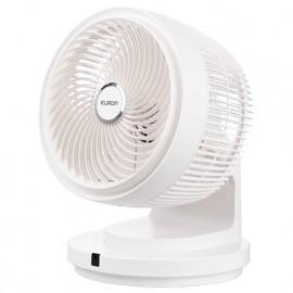 Ventilateur D. 25 cm multi-oscillations 4 vitesses et télécommande 230V 60W - Vento 3D - 384826 - Eurom