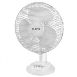 Ventilateur classique oscillant D. 30 cm 3 vitesses 230V 30W - Basic VT12 - 385434 - Eurom