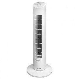 Ventilateur colonne d'air PP oscillant 3 vitesses 230V 60W - VTW31 - 385625 - Eurom