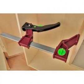 Presse légère à serrage rapide réversible 120 Kg saillie 8 cm x L. 30 cm - 30903 - Piher