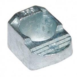 Crapaud de fixation type BB talon 2 - M12 - Galvanisé - BB2G12