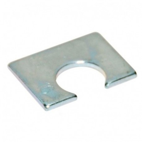 Cale d'épaisseur courte BH1 D16 x Ep. 3 mm pour structures métalliques - Zingué - BH1Z16