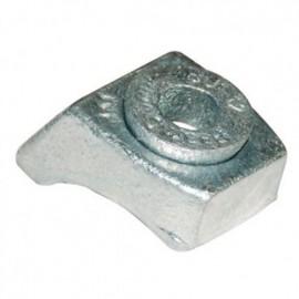 Crapaud de fixation rotule M12 - Galvanisé - BK1G12