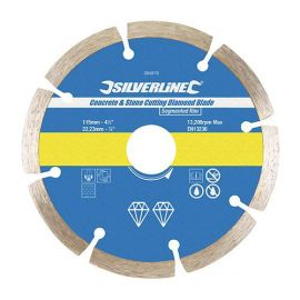 Disque diamant segmenté D. 230 x 22,23 x 7 mm pour béton et matériaux
