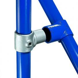 Raccord KEE KLAMP 114-7 de jonction avec manchon pour tubes D. 42,4 mm - Galvanisé - KEE114-7
