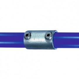 Raccord KEE KLAMP 14-4 droit pour tubes D. 21,3 mm - Galvanisé - KEE14-4