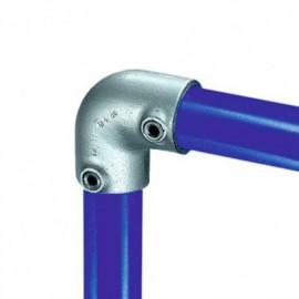 Raccord KEE KLAMP 15-5 coudé 90° pour tubes D. 26,9 mm - Galvanisé - KEE15-5