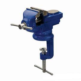 Étau de table à base pivotante, serrage max 50 mm