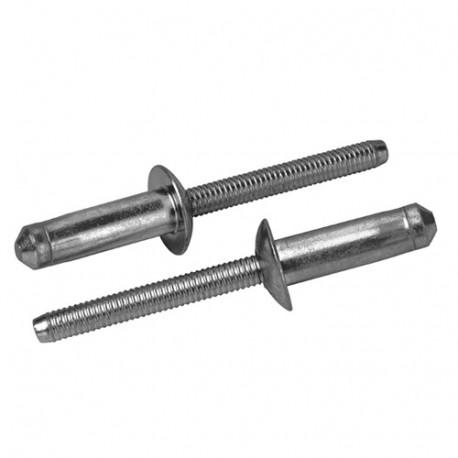 750 rivets aveugles de structure HEMLOK D. 6,5 x 23 mm - Acier - RHE6501202V