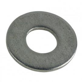 100 rondelles plates type large M5 - Inox A2 - RPL05A2B100