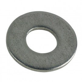 10 rondelles plates type large M20 - Inox A2 - RPL20A2B10