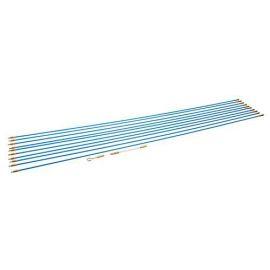10 baguettes tire-fils de D.10 mm x 1 M