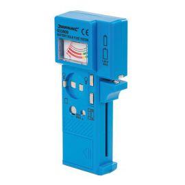 Testeur de piles, fusibles et ampoules 1,5 V à 9 V