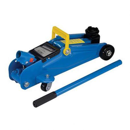 Cric hydraulique à roulettes 2 tonnes