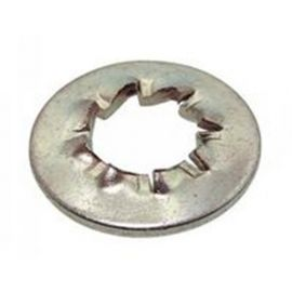 Rondelle éventail denture intérieure M8,1 x 22 mm JZC Zinguée bichromaté - Boite de 1000 pcs - RJZC0802B