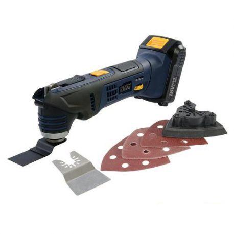 Outil oscillant sans fil 1,5 Ah 18 V GMC - 642042