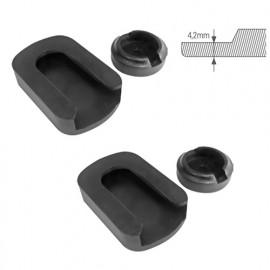2 jeux de protecteurs PVC de serre-joint Piher type M, MM et Z - 30023 - Piher