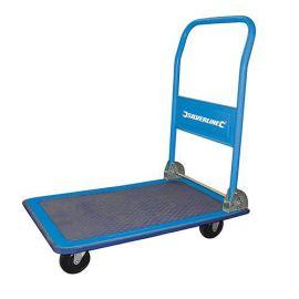 Chariot plateforme pliant à roulettes 150 kg
