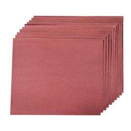 10 feuilles abrasives anti-encrassantes pour ponçage à main 230 x 280 mm Grains :4 x 60, 2 x 80, 2 x 120 et 2 x 240