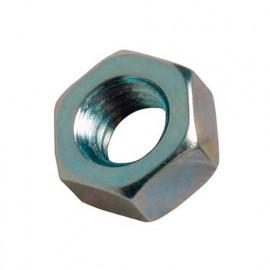 Blister de 20 écrous hexagonaux M12 - Acier Zingué - ECR8M12ZBL - Alsafix