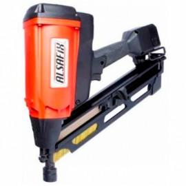 Cloueur à gaz D 90 G2 sans fil 7,2 V pour pointes 34° - 12AG3490 - Alsafix