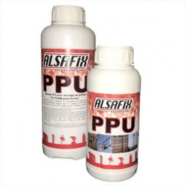 Mousse PU pour ancrage de poteaux ALSA-PPU - 237PO385 - Alsafix