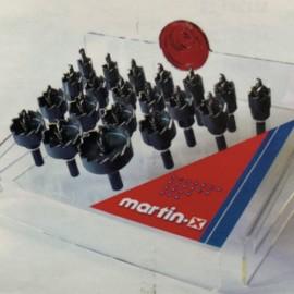 Coffret 20 trépans HSS MARTIN X D. 16 à 50 x Ht. 10 mm - MTXESP020 - Martin