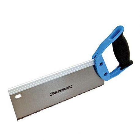 Scie à dos denture Hardpoint L. 250 mm 12 TPI - 763568 - Silverline