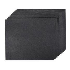 10 feuilles abrasives imperméables pour ponçage à main, sec ou humide 230 x 280 mm Grain 1200
