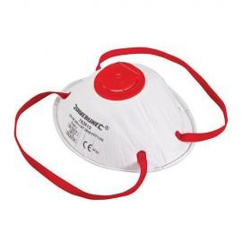 Masque respiratoire moulé à valve FFP3 NR - 763615 - Silverline