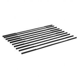 10 lames à ergots pour scie à chantourner 130 mm 21 TPI - 763619 - Silverline