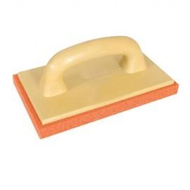 Taloche de nettoyage mousse polyuréthane texture grossière L. 230 x 140 mm - 783080 - Silverline