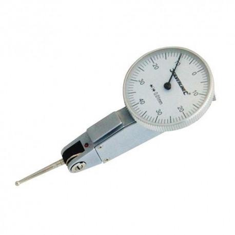 Comparateur à cadran métrique 0 - 0,8 mm - 783110 - Silverline