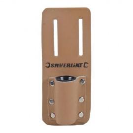 Pochette en cuir pour clé d'échafaudage H. 160 x 75 mm - 783162 - Silverline