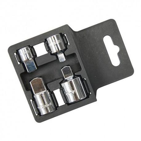 4 augmentateurs et réducteurs de douille - 793755 - Silverline