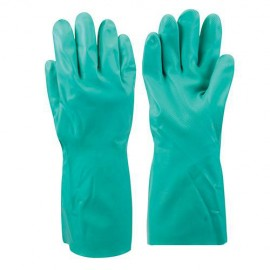 Gants nitrile Large - 793785 - Silverline